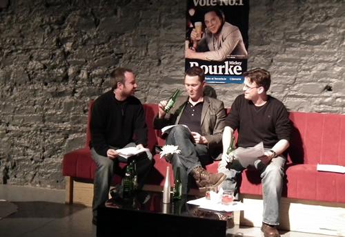 Shane Casey, Shane Falvey, Sean McNally