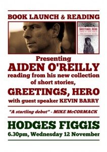 Launch of Greetings, Hero Nov 12 Hodges Figgis