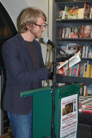 Dylan McDonough reading