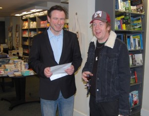 Me & Kevin Barry