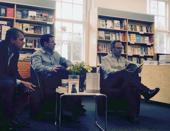 Quaker Bookshop with Mike McCormack and Anthony Cartwright